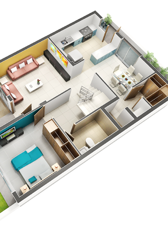 3D Floor plans Company Gurgaon